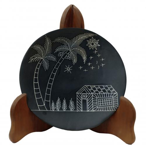 Round Decorative plate  739