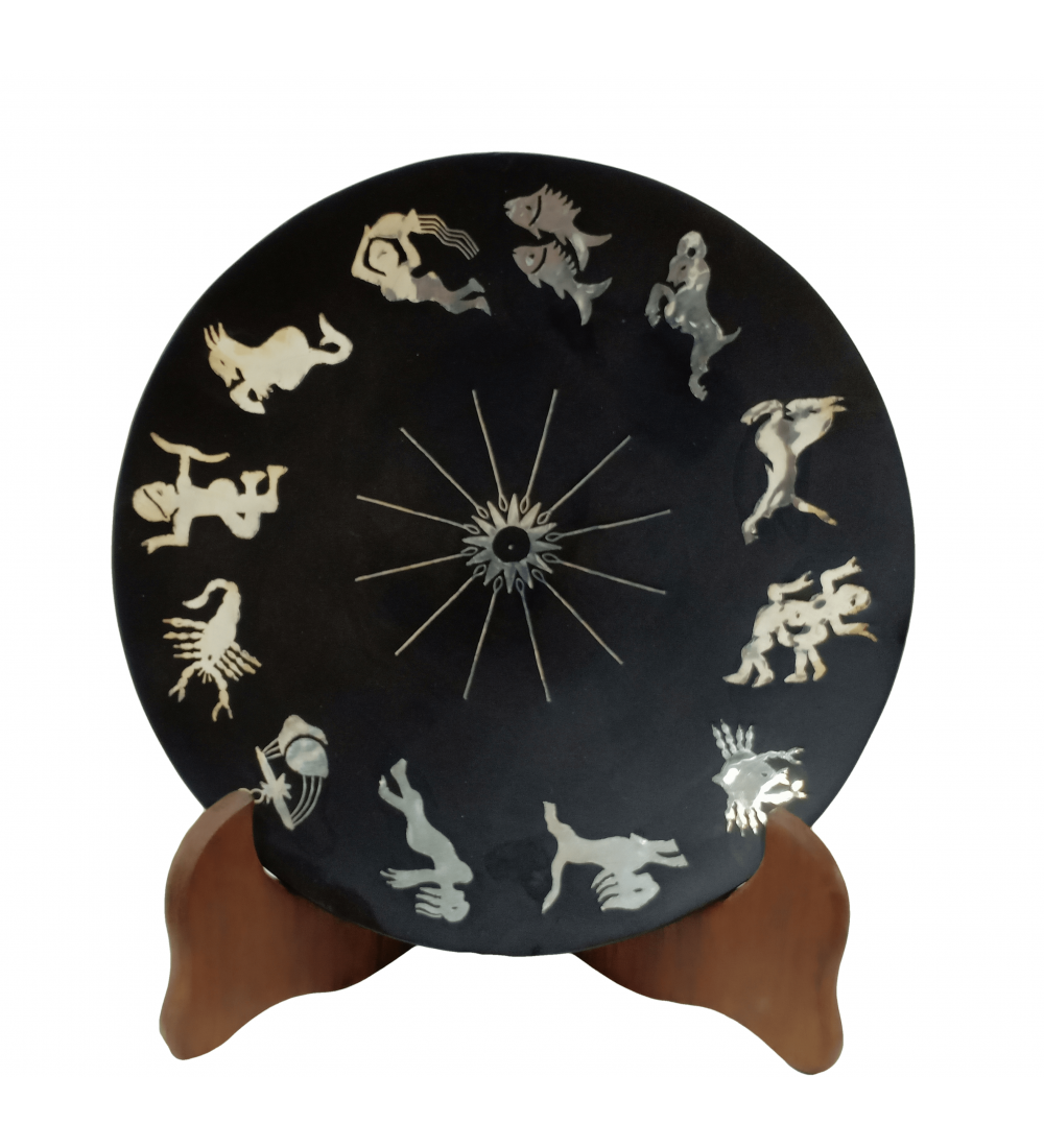 Round Zodiac Signs plate 741
