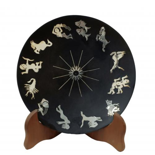 Round Zodiac Signs plate 741
